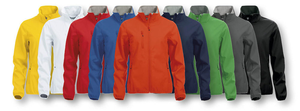 Basic Softshell jassen