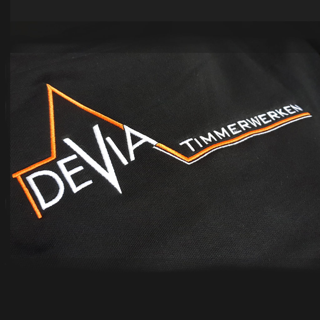 Werkkleding met logo