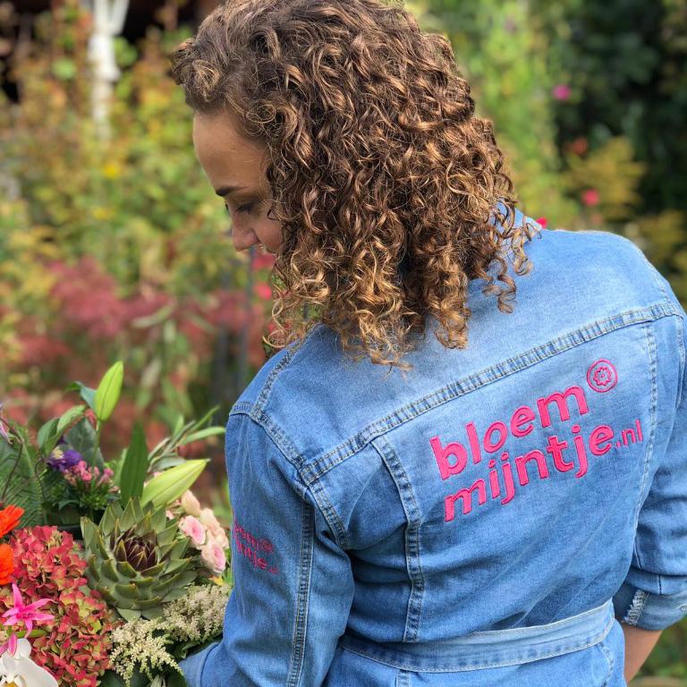 Spijkerjasje borduren met logo